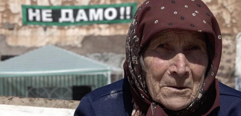 I najstariji među demonstrantima