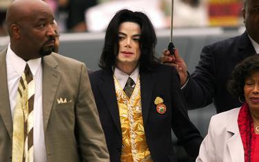 Džekson na suđenju 2005.