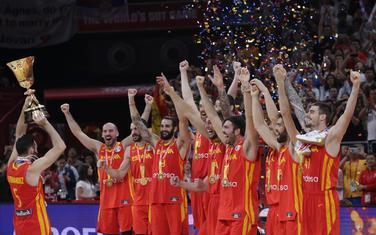 Košarkaši Španije