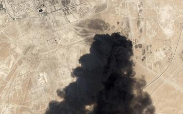 Satelitski snimci nakon napada