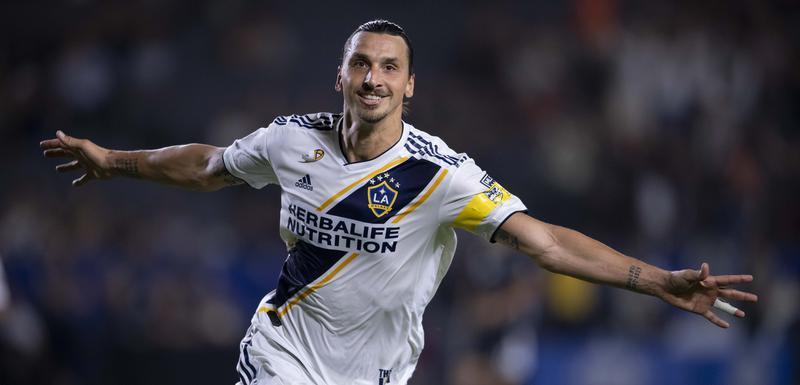 Ibrahimović proslavlja pogodak