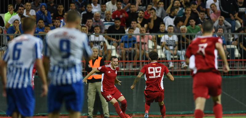 Novović je golom iz penala stavio tačku na pobjedu protiv Budućnosti