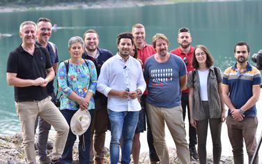 Abazović sa partijskim kolegama na Crnom jezeru