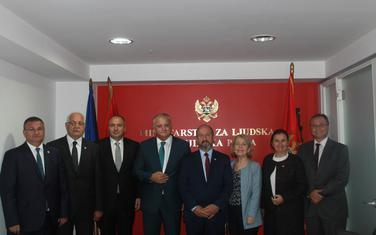 Sa sastanka Zenke i delegacije Grupe prijateljstva Velike narodne skupštine Republike Turske
