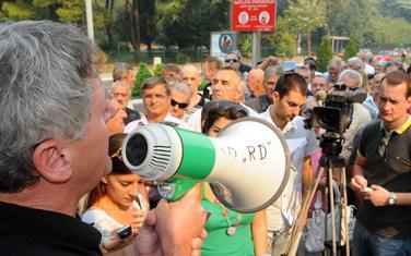 Danas u 10 protest pred Vladom, a zatim idu pred Privredni sud: Sa jednog od ranijih protesta