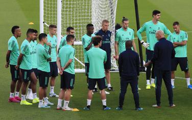 Fudbaleri Reala u Parizu