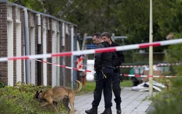 Istražitelji na mjestu ubistva Virsuma