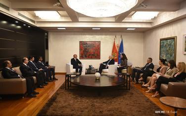 Marković u razgovoru sa predstavnicima Northstara i Marriotta