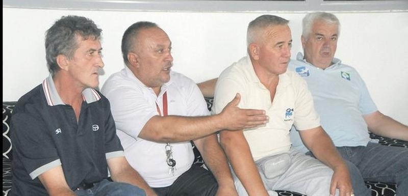 Bečanović i Šuškavčević (prvi i treći s lijeva)
