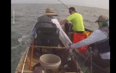 Ribari u čamcu