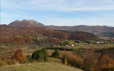 Pogled na Bašanje brdo kod Kolašina