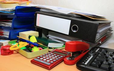 Kancelarijski materijal (Ilustracija)