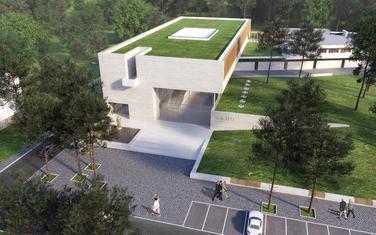 Studio Grad, Zgrada CANU, konkursni rad, rendering