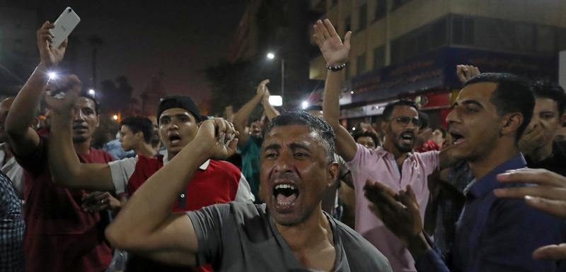 Sa protesta u Kairu