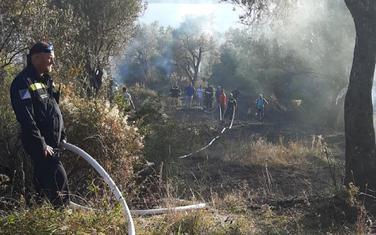 Požar ugašen nakon skoro tročasovne intervencije
