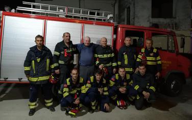 Kotorski vatrogasci sa irskim državljaninom