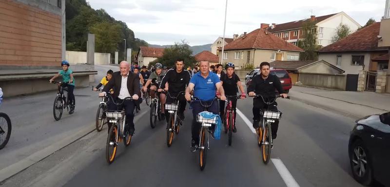 Sa biciklijade u Bijelom Polju