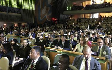 Crnogorska delegacija u Njujorku