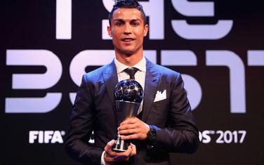 Ronaldo sa nagradom 2017.
