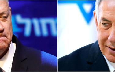 Ganc i Netanjahu