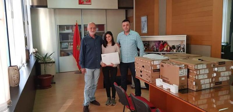 Donacija Gimnaziji u Beranama