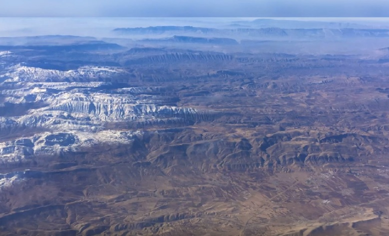 Ostaci kontinenta mogu se vidjeti u planinama u Turskoj