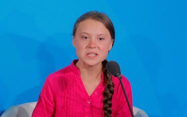Greta Tunberg govori u UN