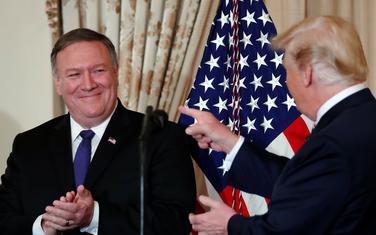 Nakon Pensa, stiže i državni sekretar SAD: Pompeo i Tramp