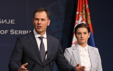 Siniša Mali, Ana Brnabić