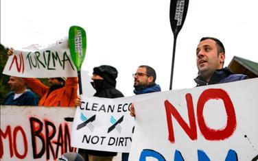 Lokalni aktivisti i Balkan River Defence udruženi protiv planirane male hidroelektrane Bukovica u Crnoj Gori