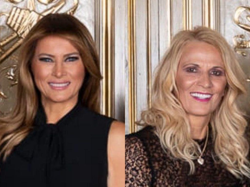 Melanija Tramp i Lidija Đukanović