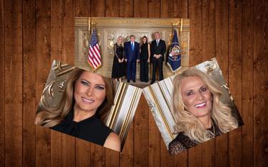 Predsjednik Crne Gore I SAD-a sa suprugama