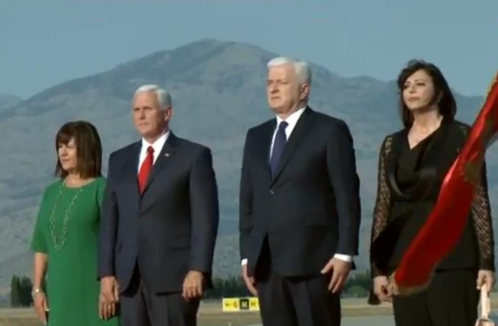 Premijer Crne Gore i potpredsjednik SAD sa suprugama