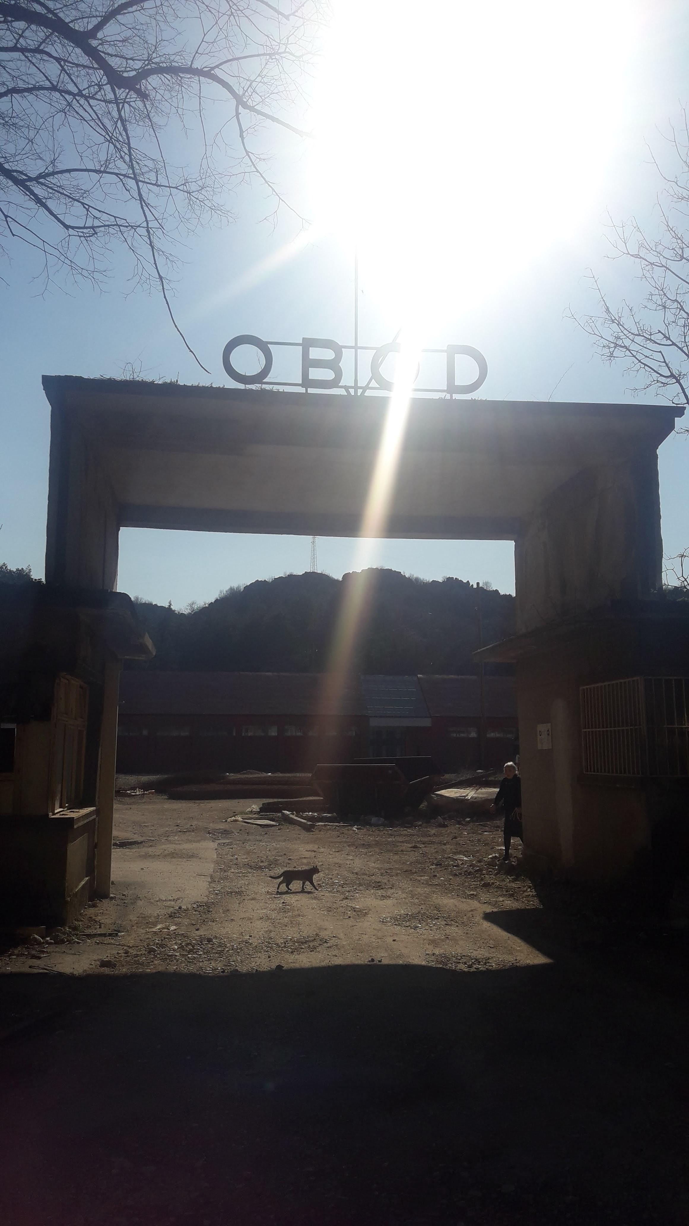 """Fabrika """"Obod"""" na Cetinju"""