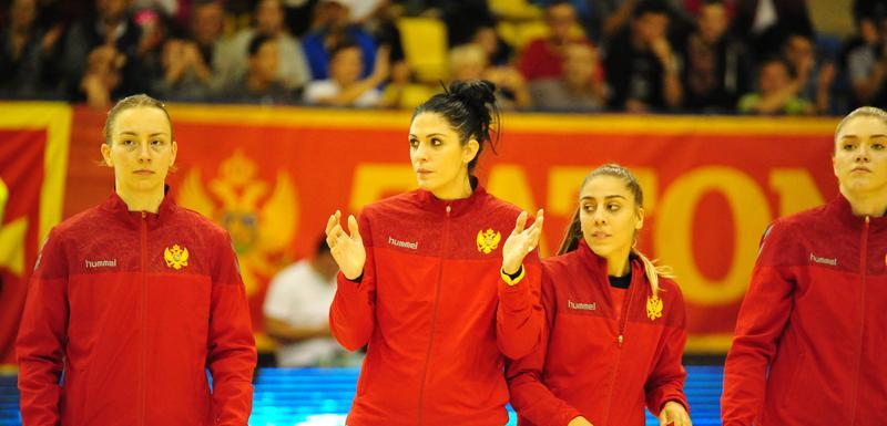 Marta Batinović pred početak meča u Pljevljima