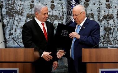 Netanjahu i Rivlin