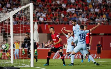 Žoao Feliks postiže gol za Atletiko