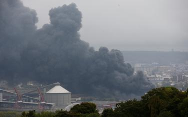 "Gust dim iznad fabrike ""Lubrizol"""