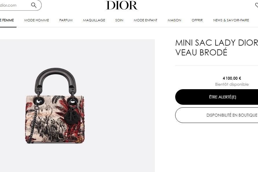 """""""Lady Dior"""" torba"""