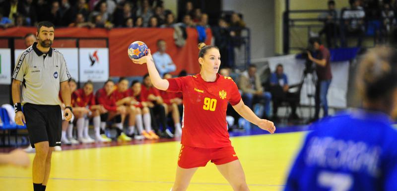 Milena Raičević na utakmici sa Italijom