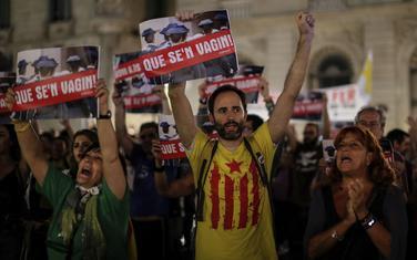 Sa nedavnog protesta u Barseloni