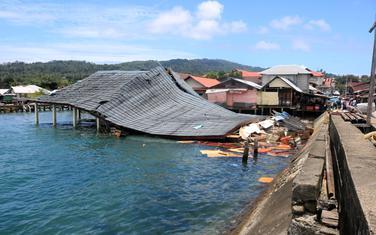 Nakon zemljotresa u gradu Ambon