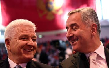 Duško Marković i Milo Đukanović