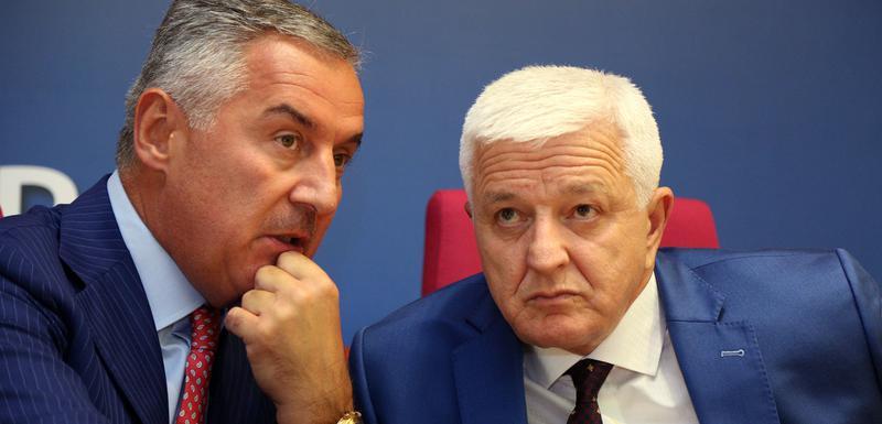 Milo Đukanović i Duško Maković