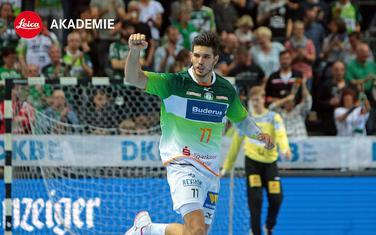 Ne umije da promaši: Stefan Čavor na utakmici sa Magdeburgom