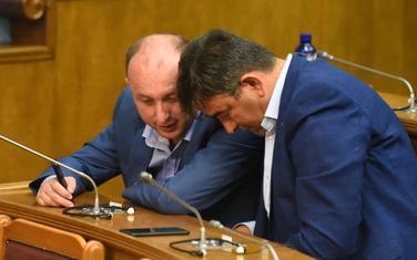 Milan Knežević i Nebojša Medojević