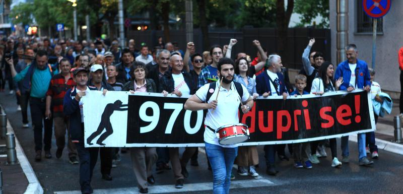Sa jednog od ranijih protesta