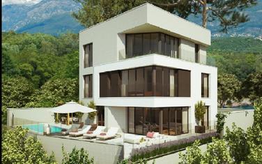 Projektovani izgled Savićevićeve vile
