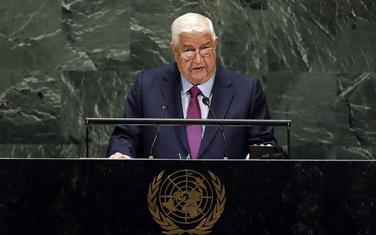 Šef sirijske diplomatije Valid al-Moalem