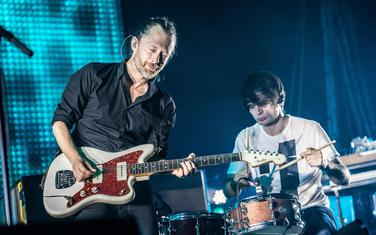 Jork na jednom od Radiohead nastupa